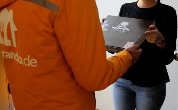 Nestlé Wagner:Kooperation mit Lieferando