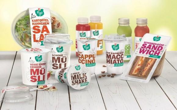 To-go-Produkte unter Eigenmarke