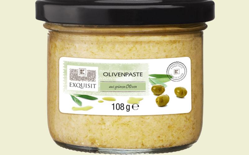 Rückruf: Glassplitter in Olivenpaste, Folie im Käse