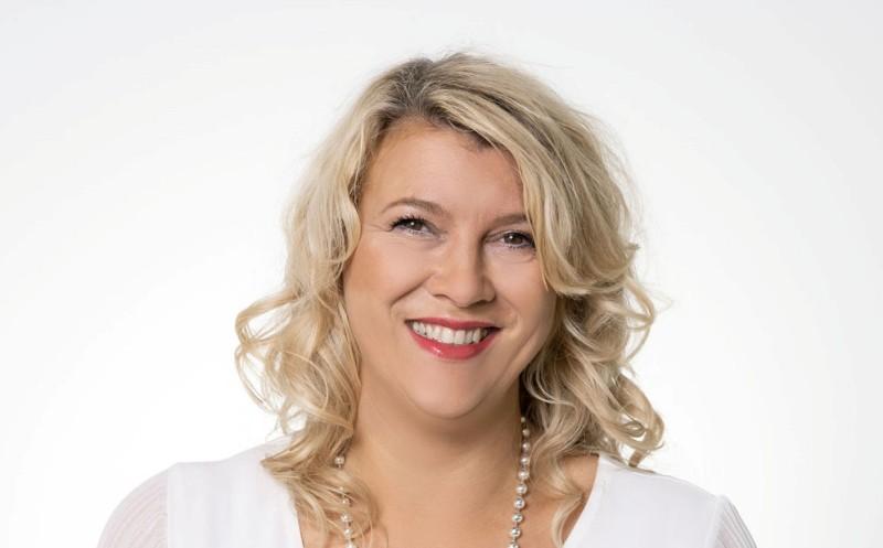 Katja Walbaum an Bord