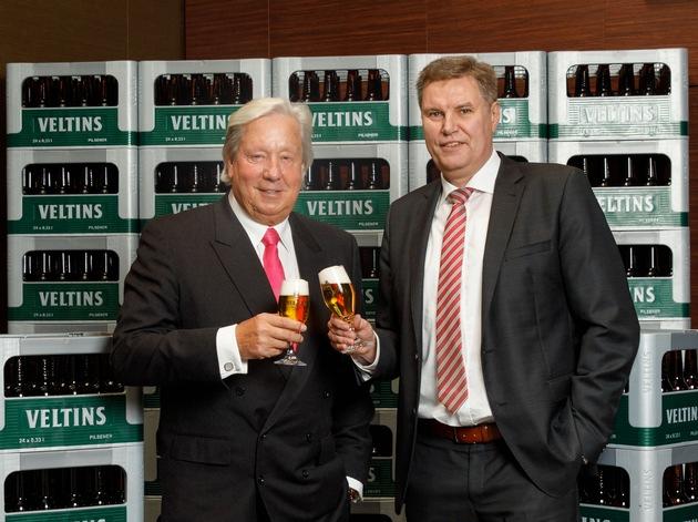 Veltins: Stabil im rückläufigen Markt