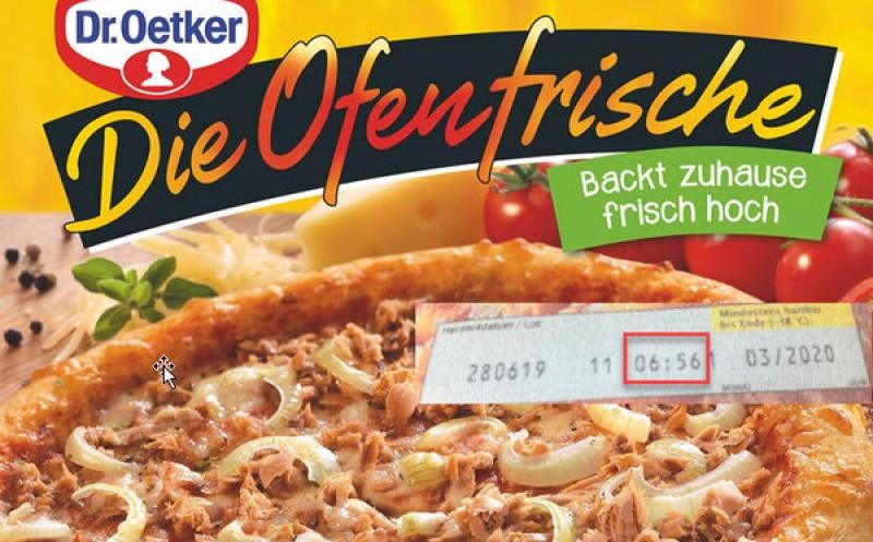 Dr. Oetker: Rückruf von TK-Pizza