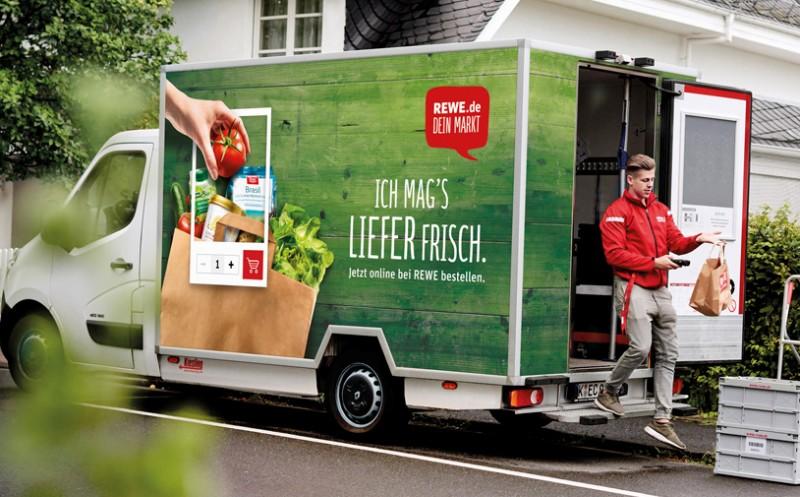 Rewe-Lieferservice: Jetzt mit Same-Day-Delivery