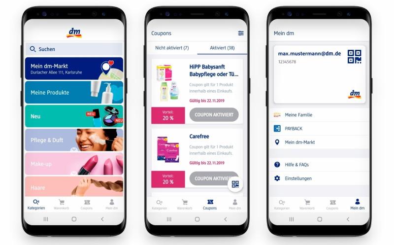 Dm-Drogeriemarkt: Bietet seinen Kunden verbessertes Einkaufserlebnis mit App