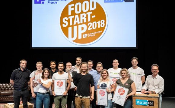 Auszeichnung: Die besten Food Start-ups 2018 stehen fest