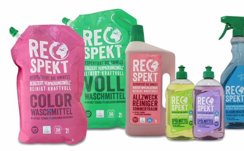 Eigenmarke für Öko-Wasch- und Putzmittel