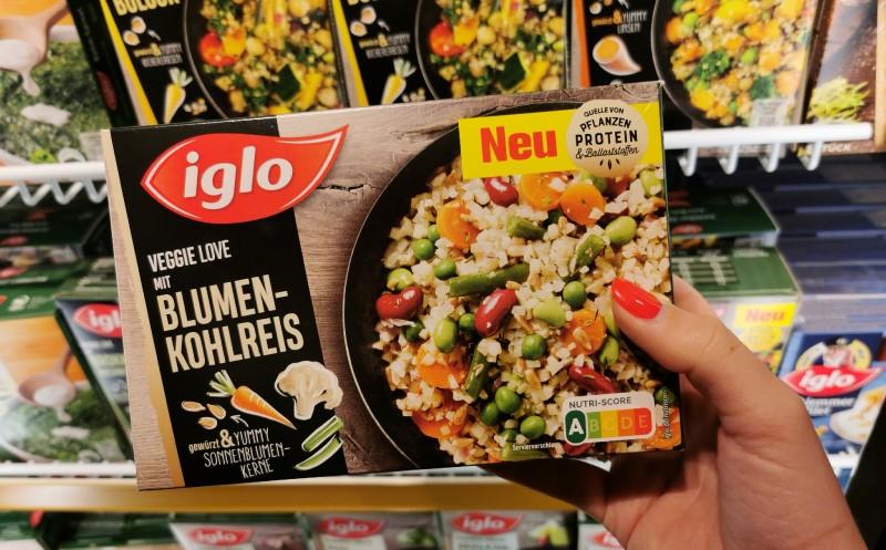 Nutri-Score bei Iglo: Rund 100 Produkte gekennzeichnet