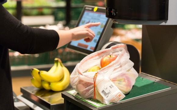 Mehrwegtasche für Obst und Gemüse