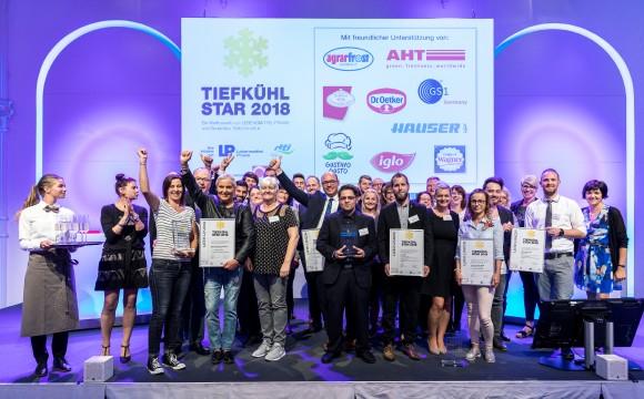 Tiefkühl-Stars 2018 vergeben