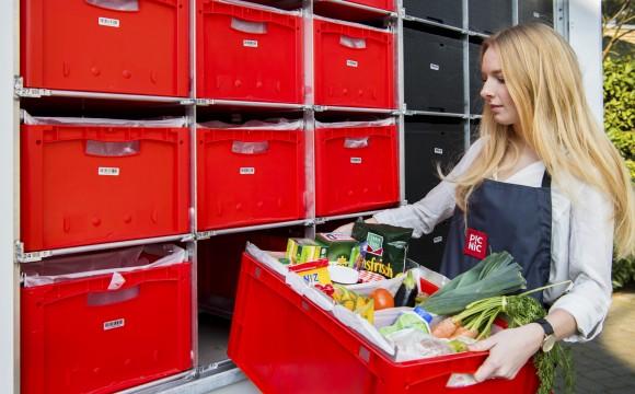 Online-Supermarkt beliefert sechs Prozent der Haushalte