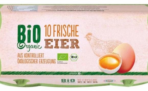 Rückruf von Bio-Eiern