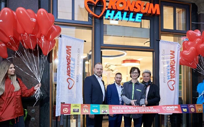 Konsum Leipzig: Nach 27 Jahren wieder in Halle