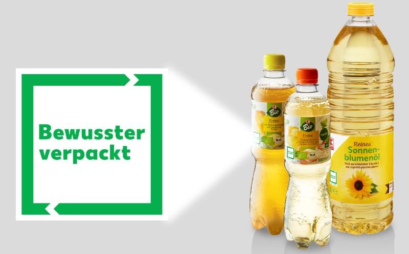 """Kaufland: """"Bewusster verpackt""""-Logo eingeführt"""