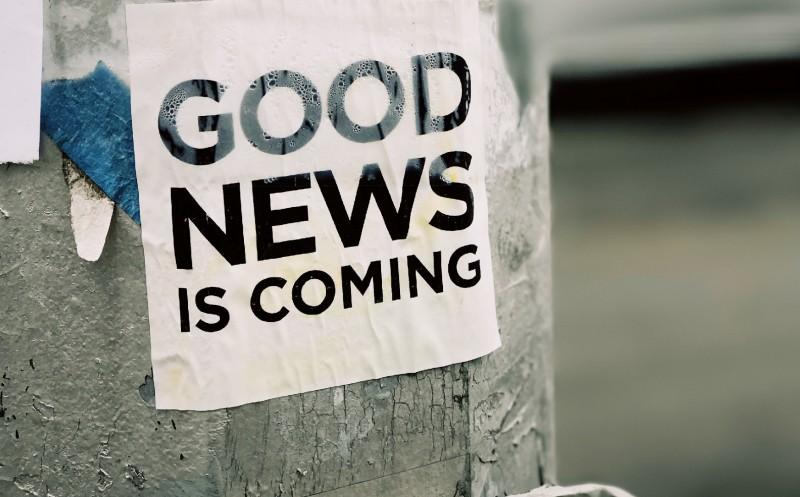 Das sind gute Nachrichten