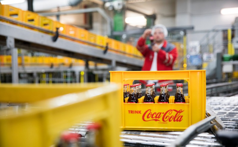 Coca-Cola European Partners: Wassersparte rückläufig