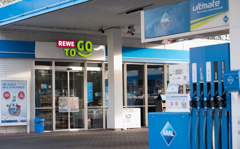 Rewe:  500. Tankstellen To Go-Shop