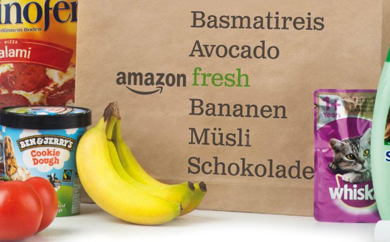 Amazon Fresh: DHL scheint raus