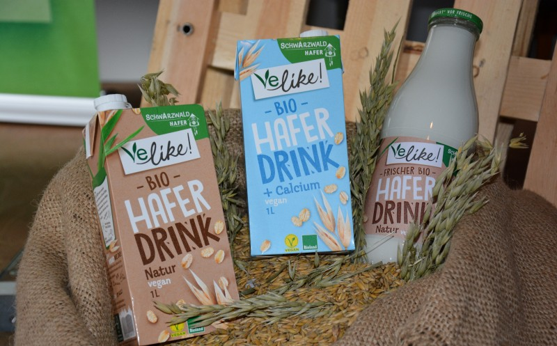 Führt vegane Milch-Alternativen ein