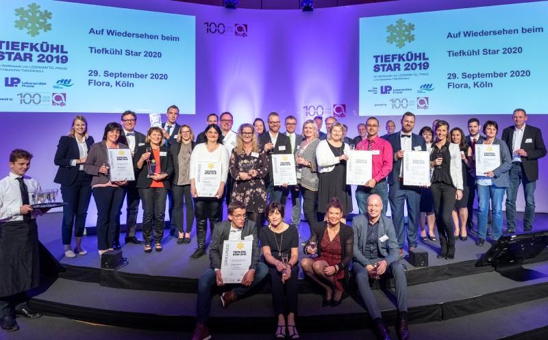 Lebensmittel Praxis / dti: Tiefkühl-Stars 2019 vergeben