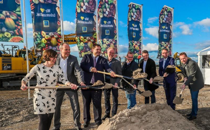 Edeka Rhein-Ruhr: Neues Logistikzentrum im Bau