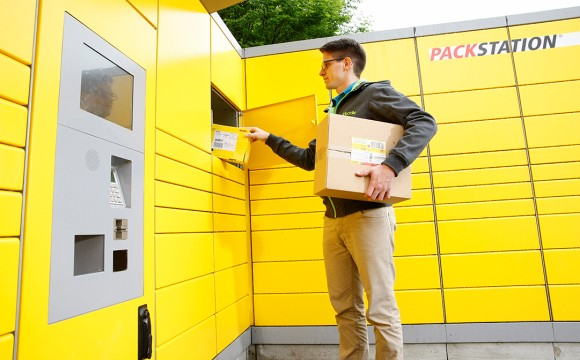 Testet Packstationen mit DHL