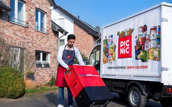 Lebensmittel-Onliner startet in Deutschland