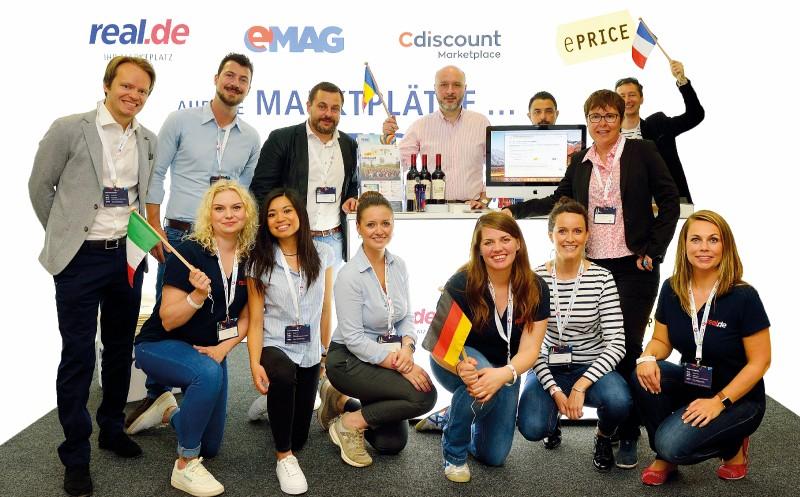 Countdown für internationales Online-Marktplatz-Netzwerk