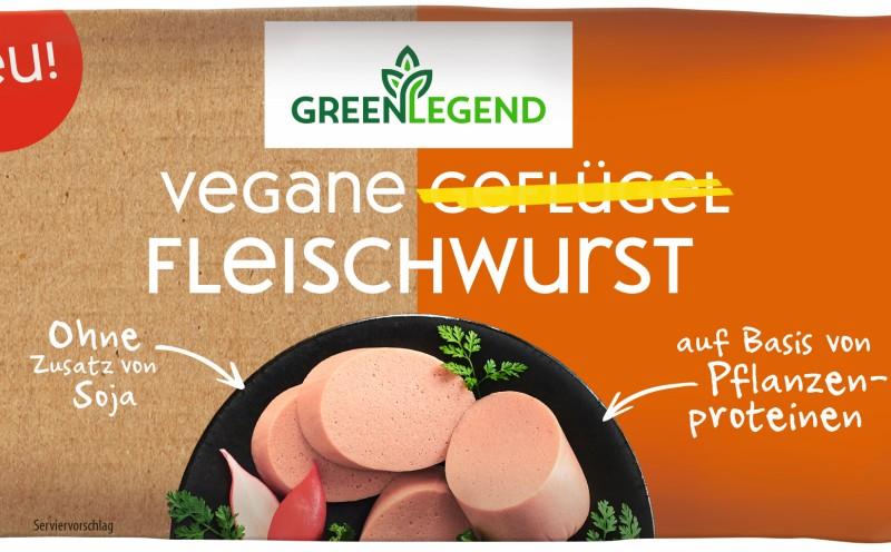 Green Legend als neue vegane Produktlinie