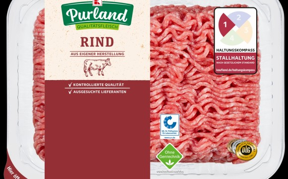 Kaufland: Rindfleisch ohne Gentechnik
