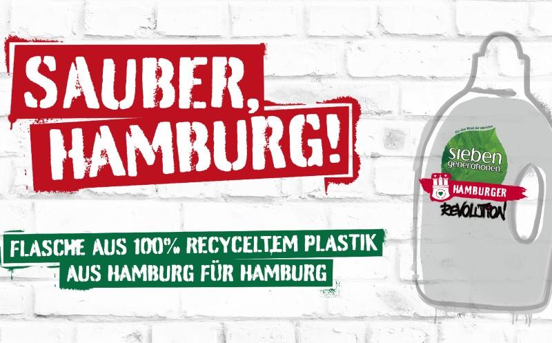 Hamburger schaffen Recycling-Kreislauf