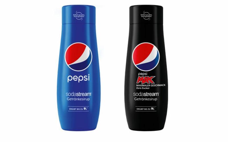 PepsiCo-Marken aus dem Wassersprudler