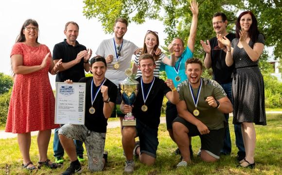 Deutsche Meisterschaft der Handelsjunioren:Das sind die Sieger 2018