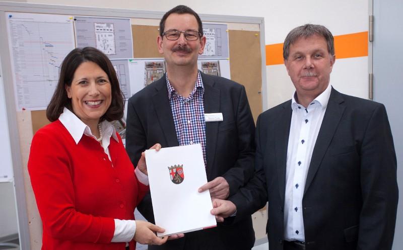 Food Akademie Neuwied: Lehr-Supermarkt im Bau
