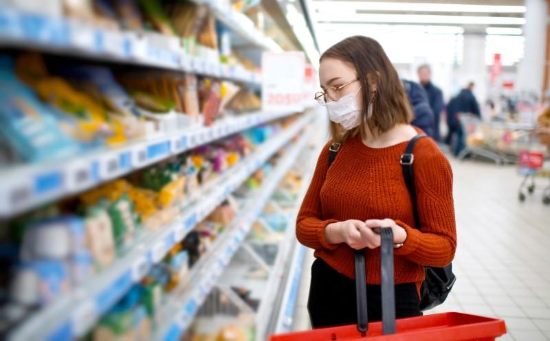Maske dämpft die Kauflust