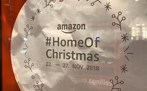 Amazon: Eröffnet Weihnachts-Pop-up Store in Berlin
