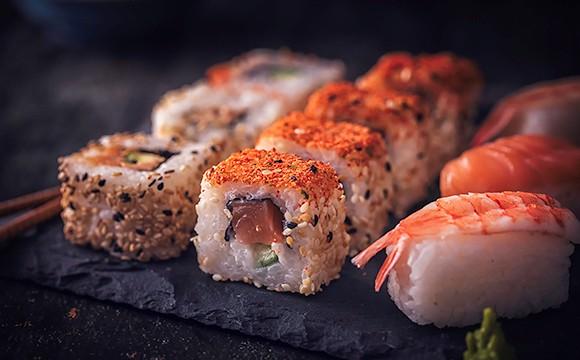 Rufen Sushi-Boxen zurück