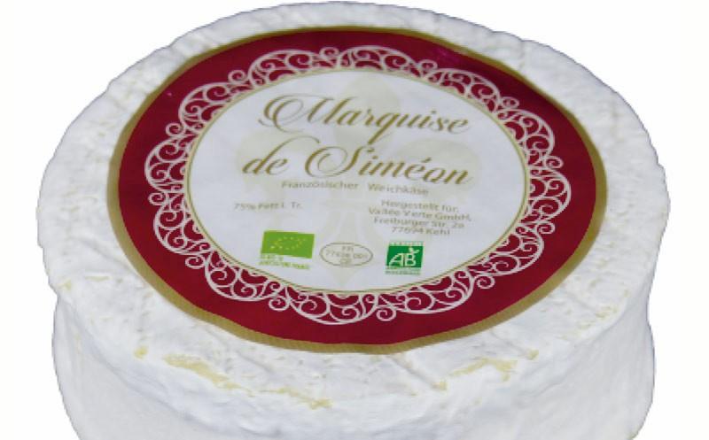"""Fromagère de la Brie: Rückruf des Käses """"Marquise de Siméon"""""""