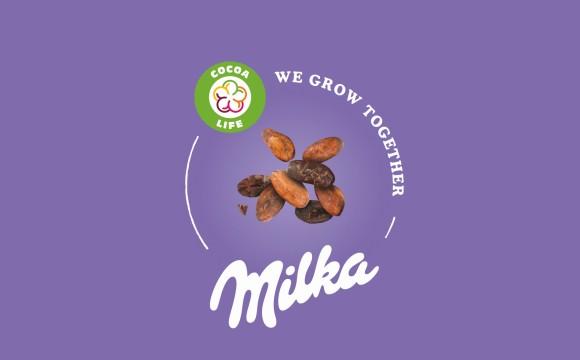 """Milka wird Teil von """"Cocoa Life"""""""