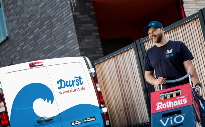 Durst.de: Rewe beteiligt sich an Getränke-Lieferdienst