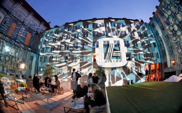 Das Bistro öffnet in München