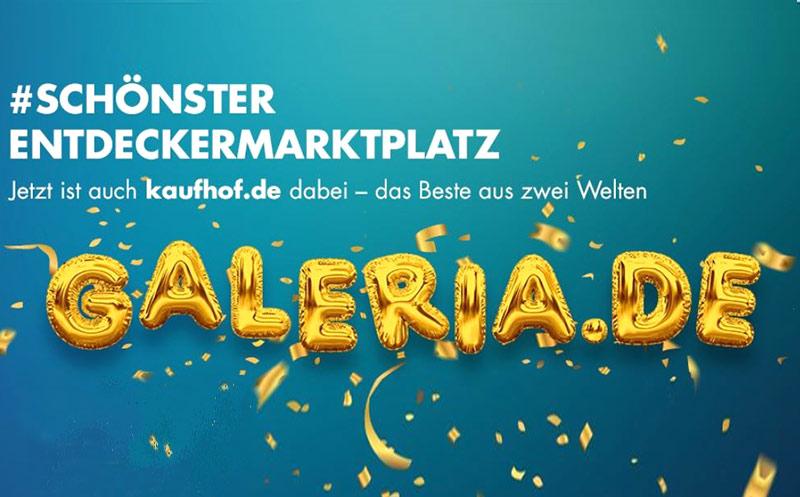 Galeria Karstadt Kaufhof gemeinsam online