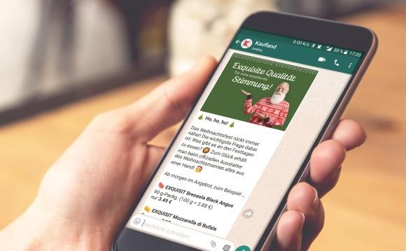 Kaufland: Kommt mit WhatsApp-Newsletter