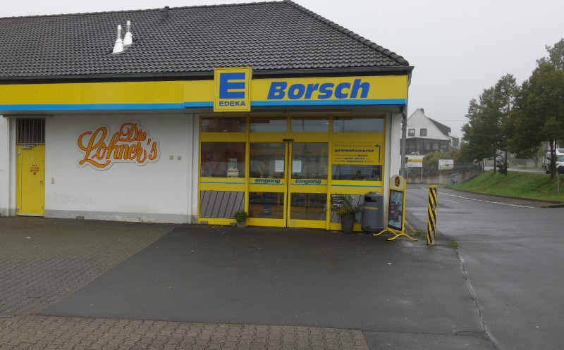 Markt in der Eifel betroffen