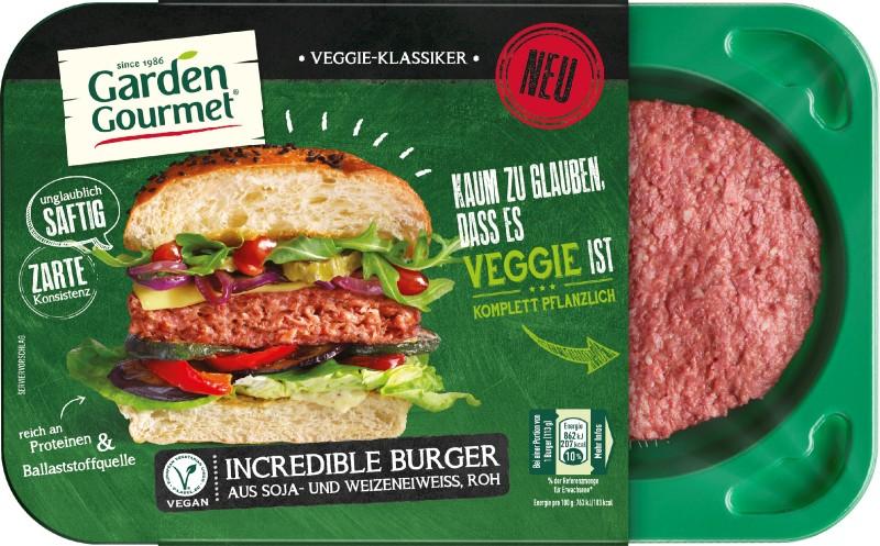 """Fleischloser """"Incredible Burger"""" neu im Sortiment"""