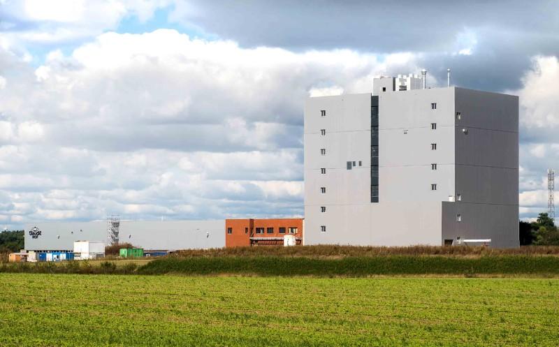 Bauck: Neue Mühlenanlage