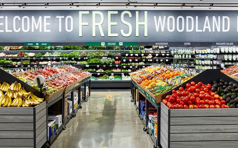Erster Amazon Fresh-Lebensmittelmarkt