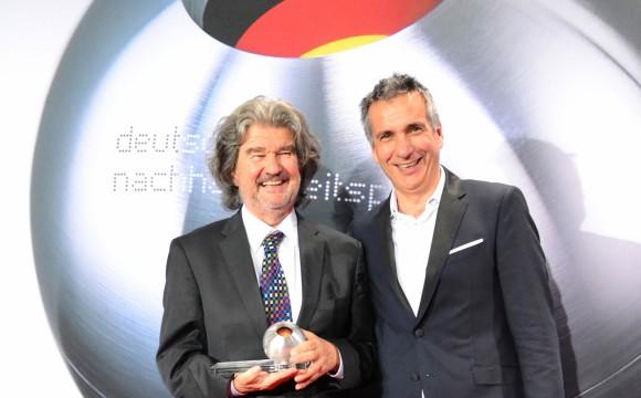 Gewinnt Deutschen Nachhaltigkeitspreis 2018