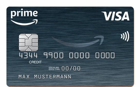 Kreditkarte für Prime-Kunden