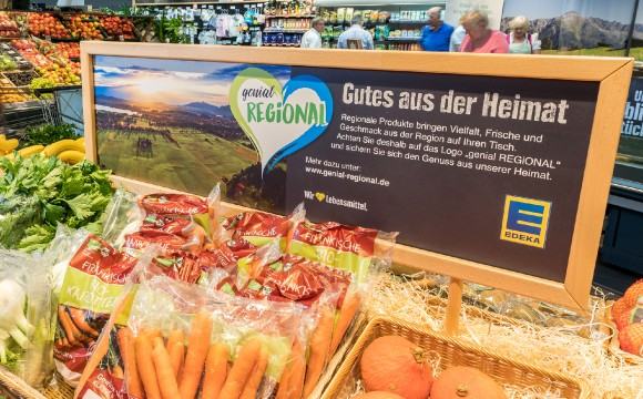 Edeka Südbayern: Neues Logo für Regionales